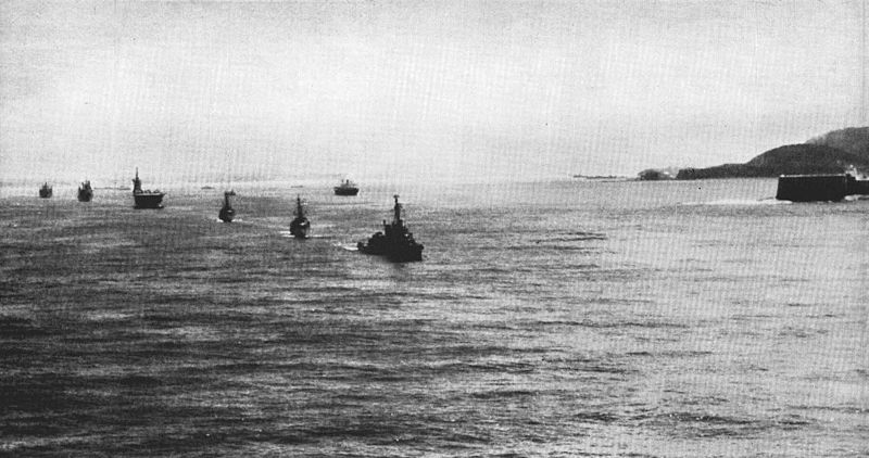 File:Ships of US Task Force 88 leave Rio de Janeiro in 1958.jpg