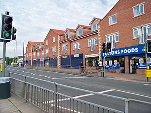 Halton, Leeds - Image: Shops on Selby Road