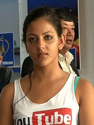 Nepal at the 2012 Summer Olympics - Shreya Dhital took part in the women's 100 metre freestyle where she was eliminated in the heat stages.