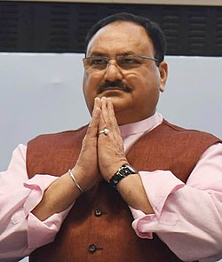 Shri J.P. Nadda is also seen in delhi.jpg