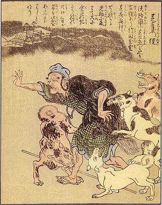 Shibaemon-tanuki - Image: Shunsen Shibaemontanuki
