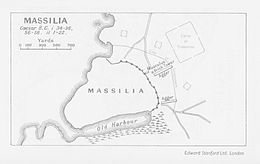 Description de l'image Siege of Massilia 49 BC.jpg.