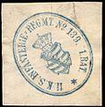 Siegelmarke 11. Königlich Sächsische Infanterie - Regiment No. 139. 1. Bataillon W0235922.jpg