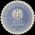Siegelmarke Der Vorsitzende der Einkommensteuer-Veranlagungs-Kommission Kreis Bitburg W0380495.jpg
