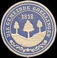 Siegelmarke Die Gemeinde Goellingen W0310980.jpg
