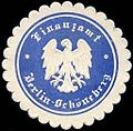 Siegelmarke Finanzamt Berlin - Schöneberg W0235563.jpg