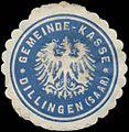 Siegelmarke Gemeinde-Kasse Dillingen-Saar W0383082.jpg