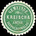 Siegelmarke Gemeinde Kreischa - Amtshauptmannschaft Dippoldiswalde W0252663.jpg