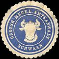 Siegelmarke Grossherzoglich Mecklenburgischer Amtsanwalt - Schwaan W0214063.jpg