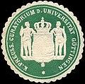 Siegelmarke Königlich Preussisches Curatorium der Universität Göttingen W0205143.jpg