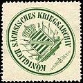 Siegelmarke Königlich Sächsisches Kriegsarchiv W0237762.jpg