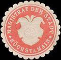 Siegelmarke Magistrat der Stadt Höchst am Main W0392552.jpg