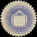 Siegelmarke Siegel der Haupt und Kreys-Stadt Luckau W0349203.jpg