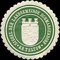 Siegelmarke Siegel der Landgemeinde Schmargendorf Kr. Teltow W0314483.jpg