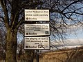 Signs in Palmer Park, Reading - geograph.org.uk - 2699..jpg