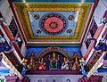 Singapore Tempel Sri Mariammam Innen Decke 1.jpg