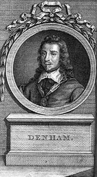 John Denham (poet) - Sir John Denham