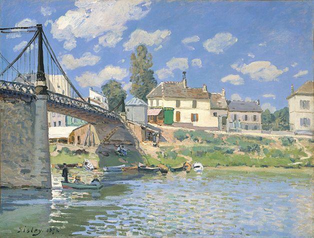 The Bridge at Villeneuve–la–Garenne