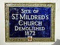 Site of St. Mildred's Church demolished 1872.jpg