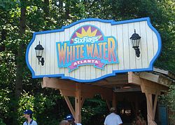 Image illustrative de l'article Six Flags White Water