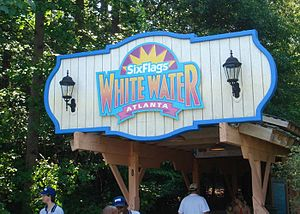 Six Flags White Water - Park entrance