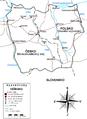 Slask cieszynski-Mapa Těšínska.png