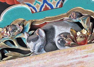 Hidari Jingorō - Image: Sleeping Cat Nikko