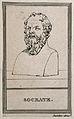 Socrates. Line engraving. Wellcome V0005529.jpg