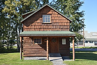 Soldotna Post Office - Image: Soldotna Post Office front view