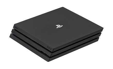 The PlayStation 4 Pro Sony-PlayStation4-Pro-Console-FL.jpg