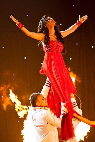 Georgia in the Eurovision Song Contest - Image: Sopho Nizharadze May 2010 Semifinal