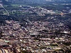 South Bend from above