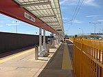 South at Airport station platform, Aug 15.jpg