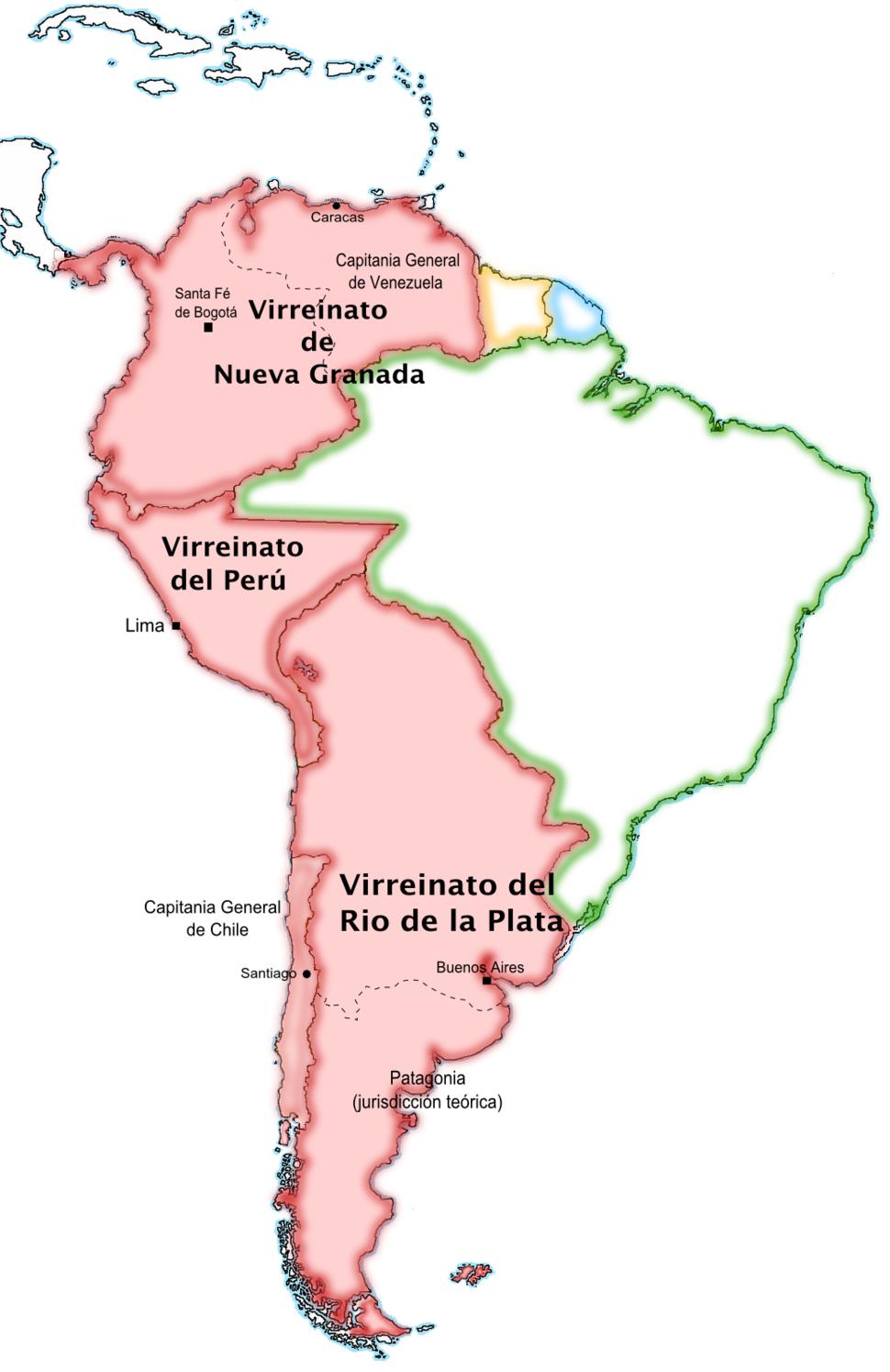 SpanishSouthAmerica