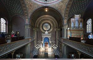 Spanish Synagogue (Prague) - Interior of the Synagogue