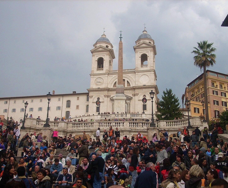 Plaza de España - Visita Roma