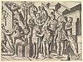 Speculum Romanae Magnificentiae- Roman Horsemen, from Trajan's Column MET DP820283.jpg
