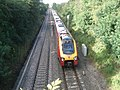 Speeding train at Dunhampstead - 1 - geograph.org.uk - 501326.jpg