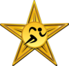 Sport of athletics golden barnstar.png