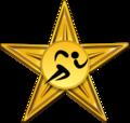 Sport of athletics golden barnstar.png