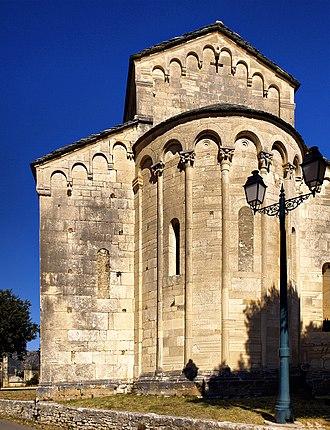 Saint-Florent Cathedral - Saint-Florent Cathedral apse