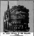 St. John's Church, at the Willows, Kirkham - The Preston Chronicle and Lancashire Advertiser, 26 April 1845.png