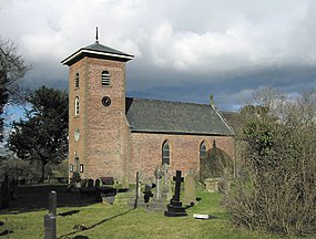 St. Michael's Church, Criggion, Powys - geograph.org.uk - 1719308.jpg