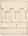 St. Peter's, drum, interior, elevation (recto) St. Peter's, drum, pedestal, section (verso) MET DP247314.jpg