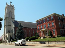 Last Days Of St Raphaels Cathedral >> St Raphael S Cathedral Dubuque Iowa Wikivisually