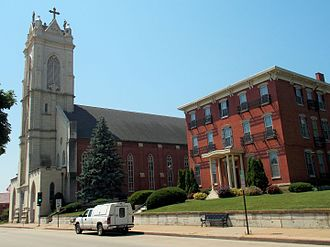 St. Raphael's Cathedral (Dubuque, Iowa) - Image: St. Raphael's Cathedral Dubuque, Iowa 01