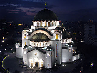 Religion in Europe - Cathedral of Saint Sava in Serbia is the largest Orthodox church in the world