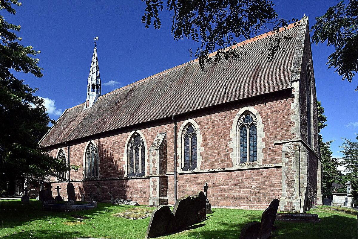 St Andrew's Church at Church Aston.jpg