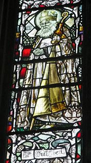 Cuthbert 7th-century Bishop of Lindisfarne, Bishop of Hexham, and saint