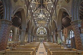 Cheadle, Staffordshire - St Giles' RC Church, Cheadle, Staffordshire